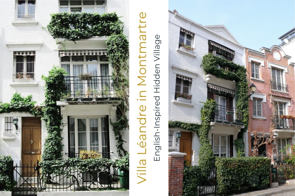 Villa Léandre in Montmartre