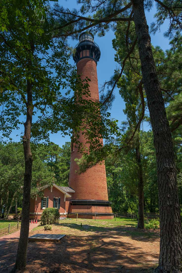 Currituck Beach Lighthouse Outer Banks North Carolina USA