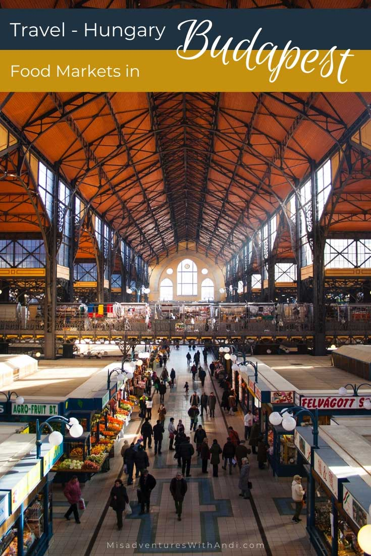 Food Markets in Budapest Hungary