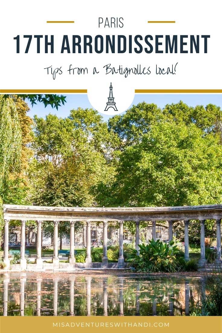 Local Guide to Paris 17th (Batignolles) Arrondissement
