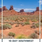 This 10-day southwest road trip USA itinerary is perfect for those who want to see the best parts the southwest has to offer. This itinerary takes you through some of the best national parks, hikes, and incredible views in Nevada, Arizona, and Utah. This is an American road trip you'll remember for years to come. The perfect itinerary for a 10-day road trip in the American Southwest. | Southwest Road Trip | Southwest Road Trip Map | American Road Trip | Road Trip Destinations | Road Trip USA