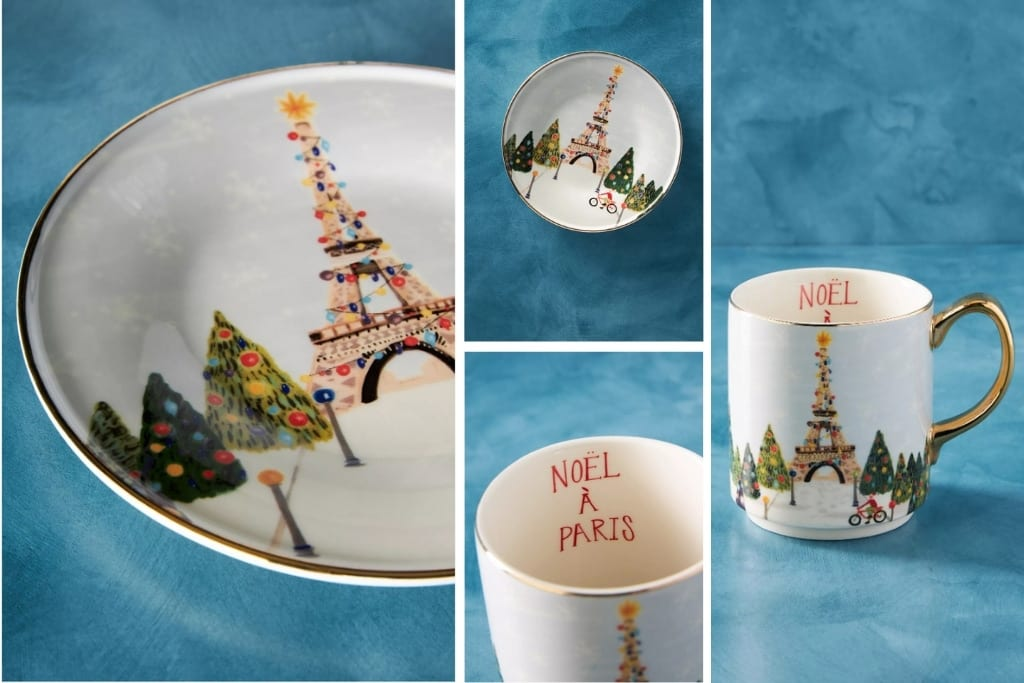 Anthropologie-Paris-for-the-Holidays-Dessert-Plate-and-Mug