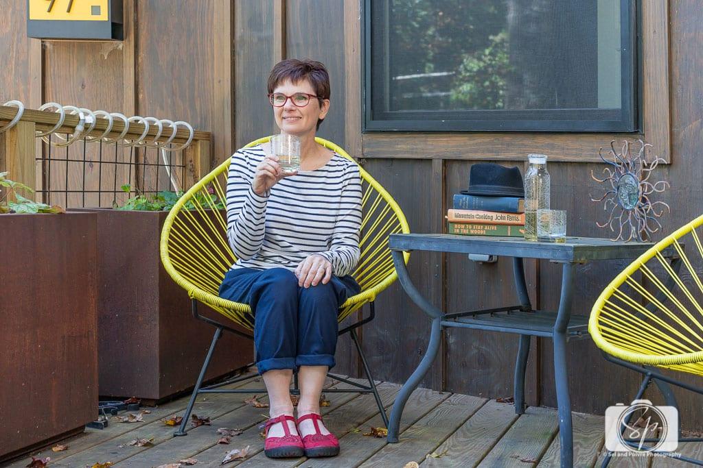 Wine-on-the-Terrace-in-Outside-Inn-a-Greybeard-Rental-Property-in-Black-Mountain-North-Carolina