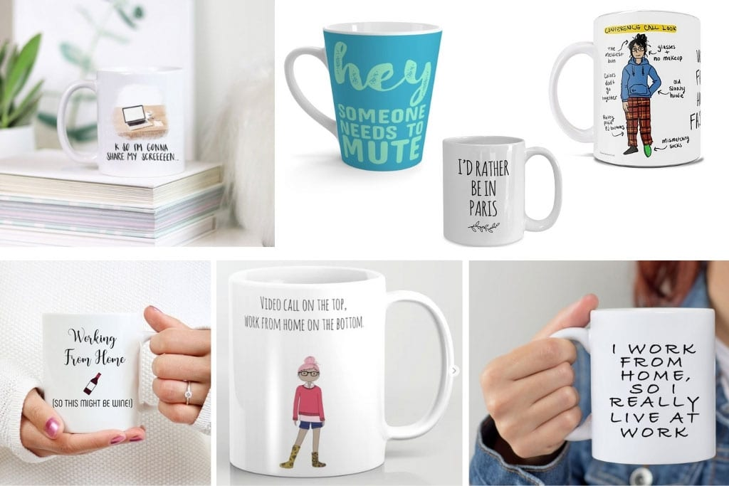Great gifts for People Working from Home - Coffee Mugs