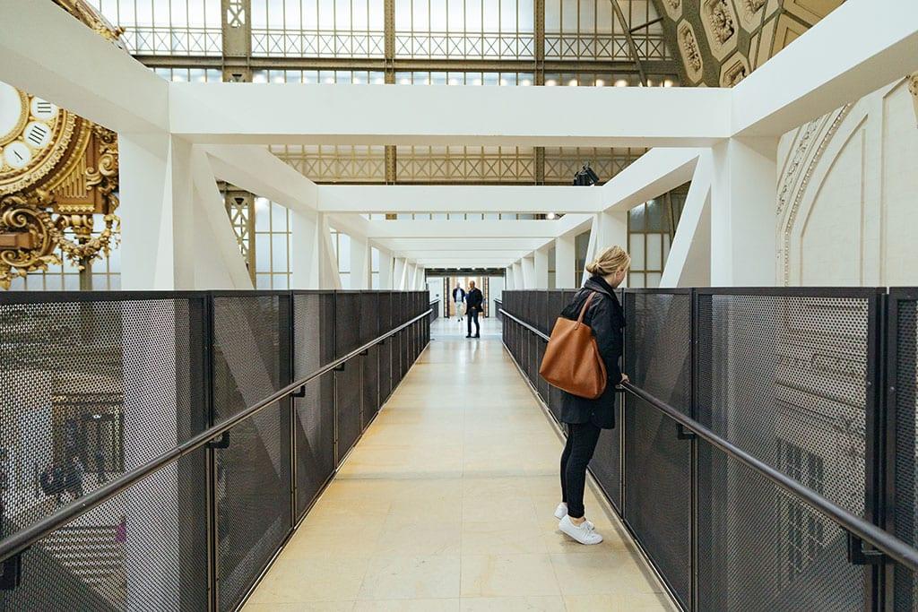 Empty Orsay Museum