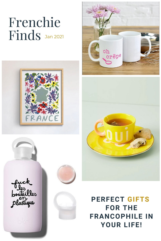 Gifts for Francophiles - Jan 2021