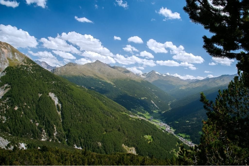 Lombardy Alps in Italy