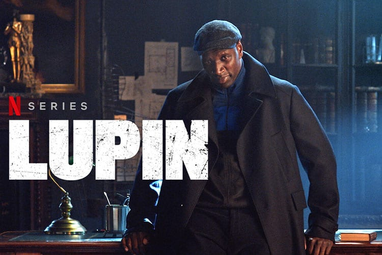 Netflix series Lupin with Omar Sy Hero