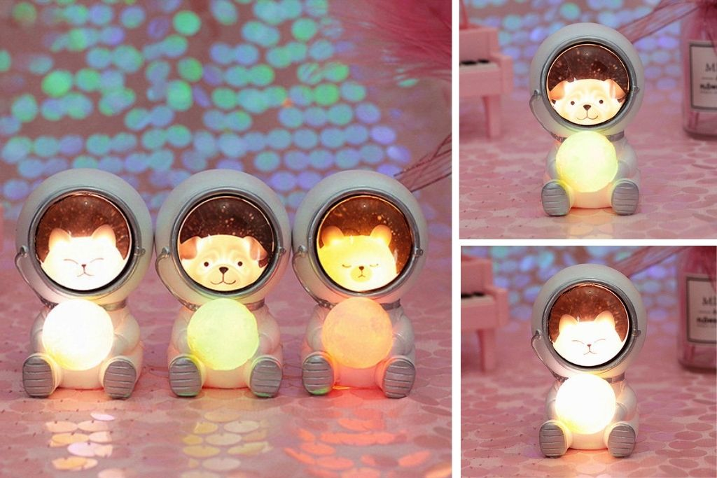 Animal Astronaut Night Light