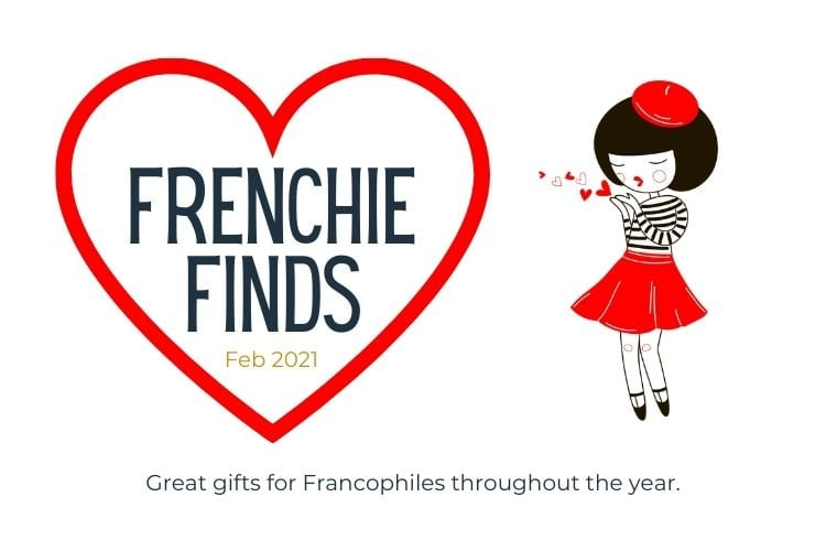 image of a girl in french clothes kissing a hear