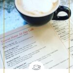 coffee and menu