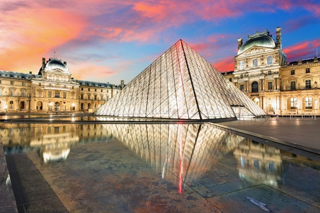 Louvre at Sunrise in February