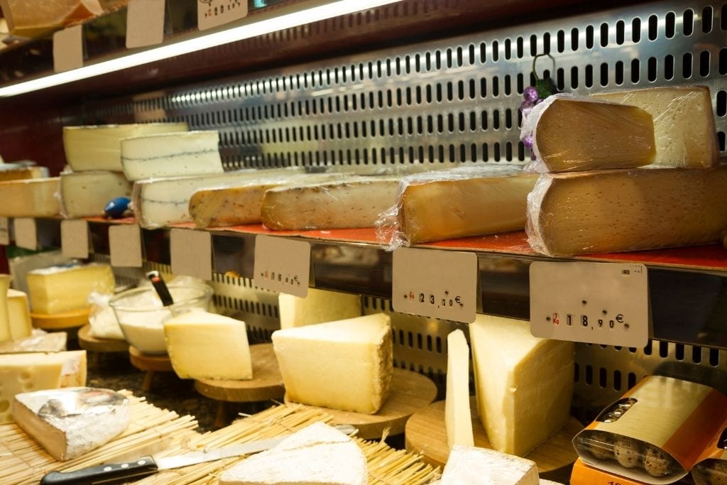 photo of comte cheeses