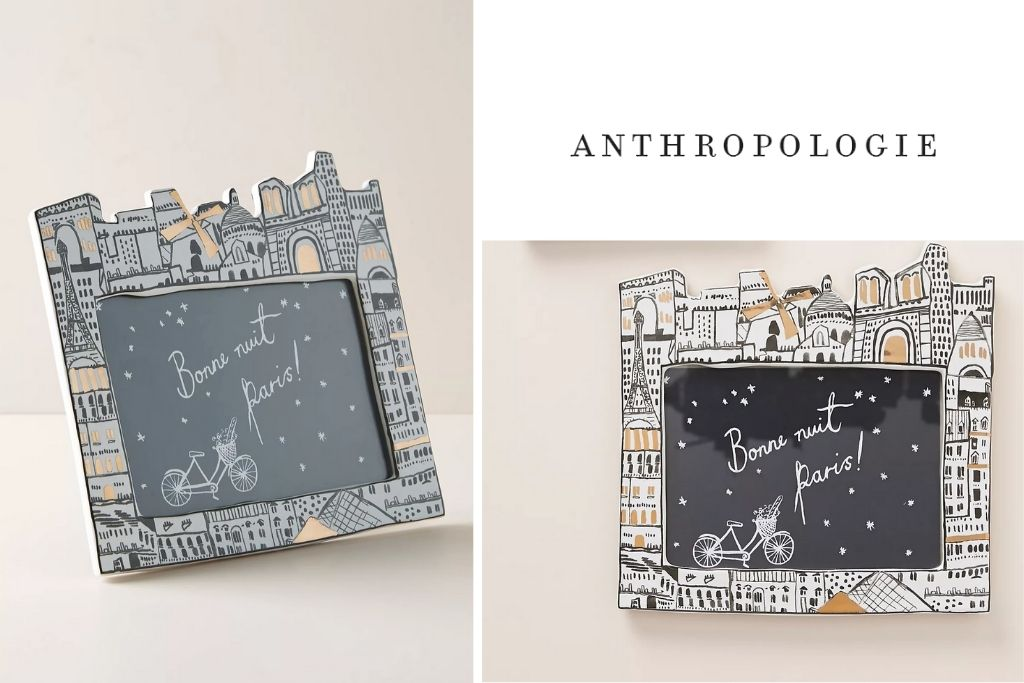 Anthropologie Paris City Frame