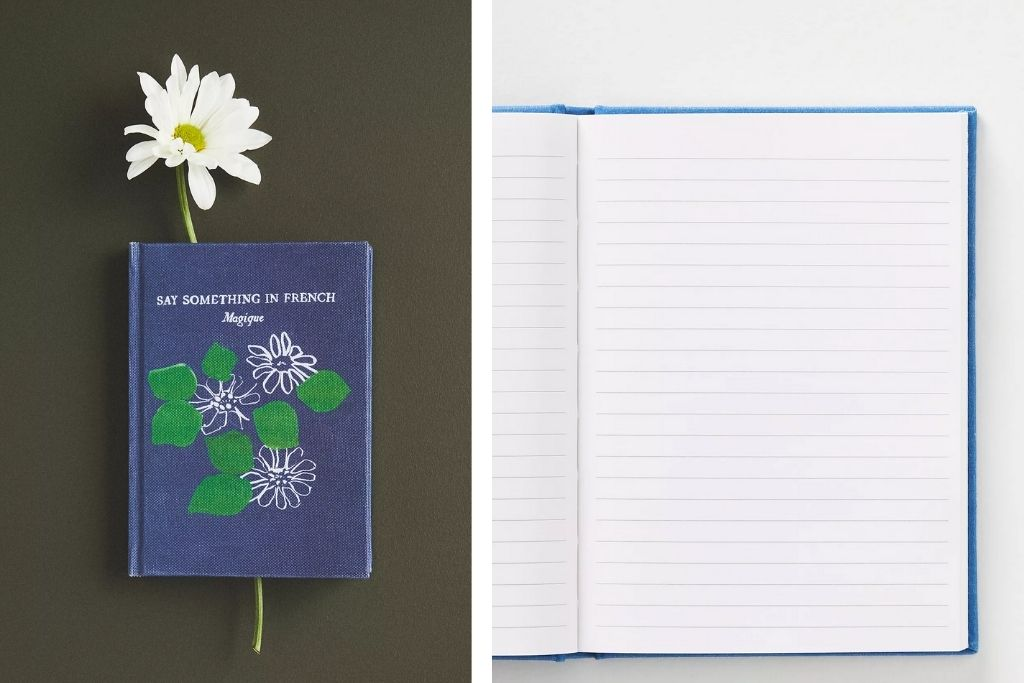 Anthropologie Say Something in French Hotel Magique Mini Journal