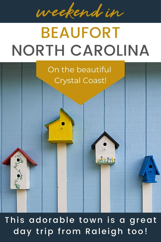 birdhouses in Beaufort North Carolina