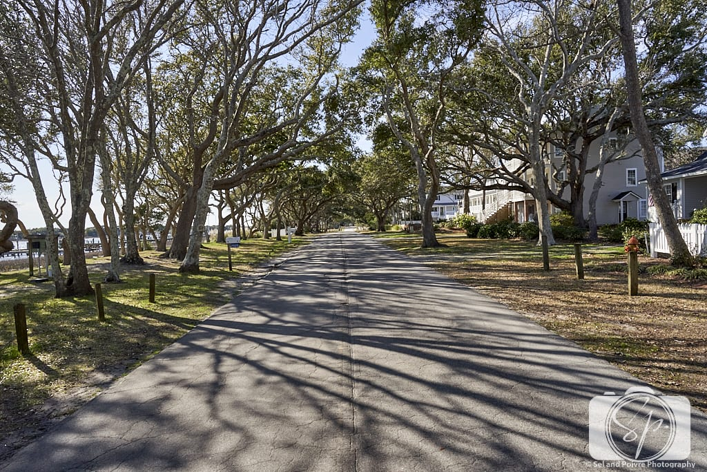 Charming Front Street in Beaufort North Carolina