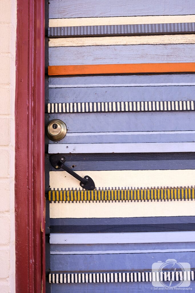 Door detail of The Downtown Clifton Hotel Tucson Arizona