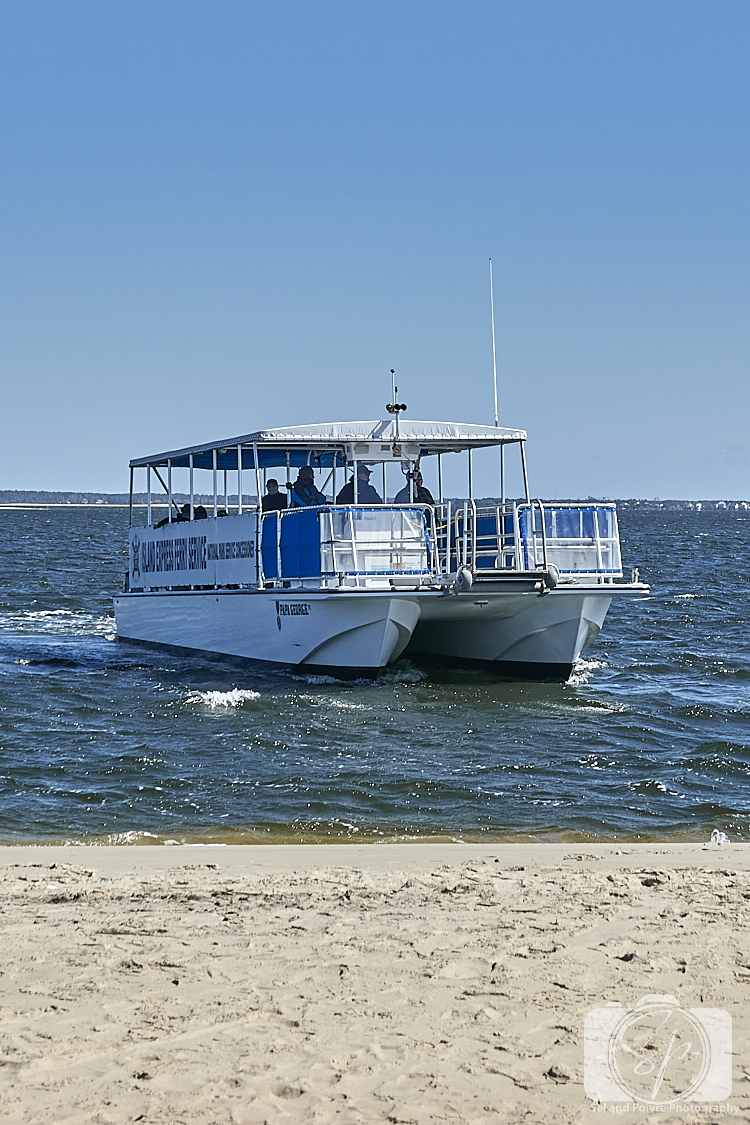 Ferry boat for Shackleford Banks