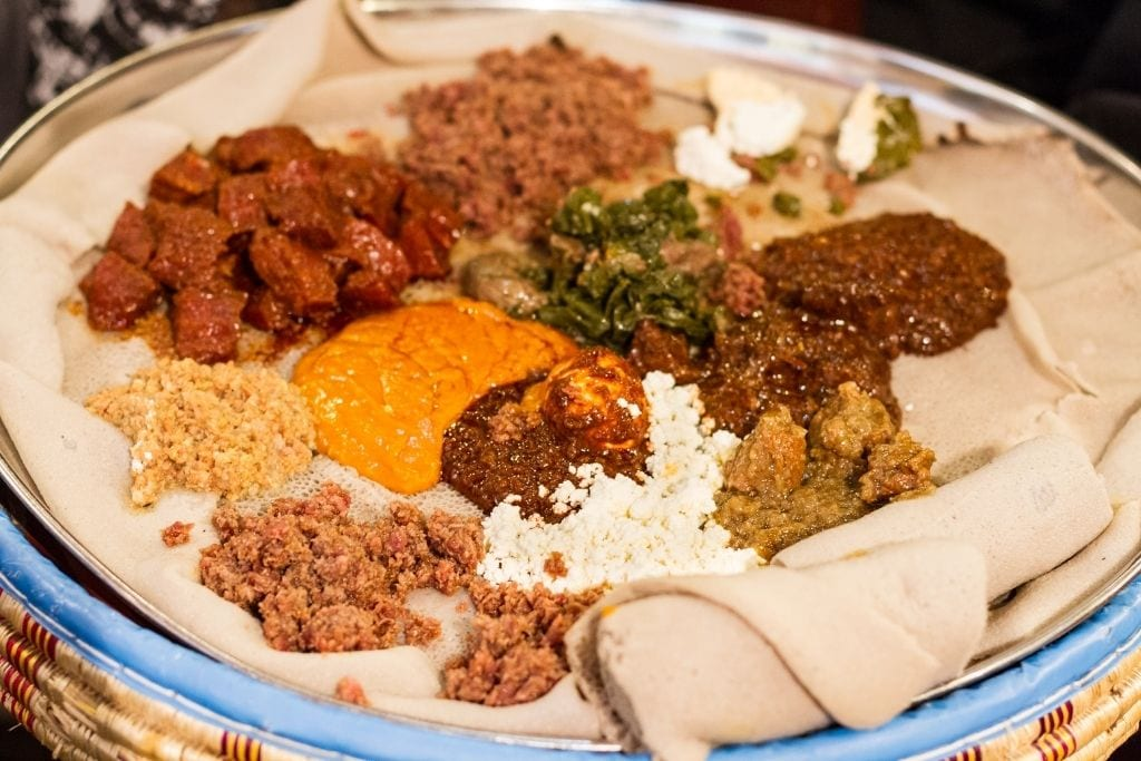 Godjo Ethiopian food Paris 5th arrondissement
