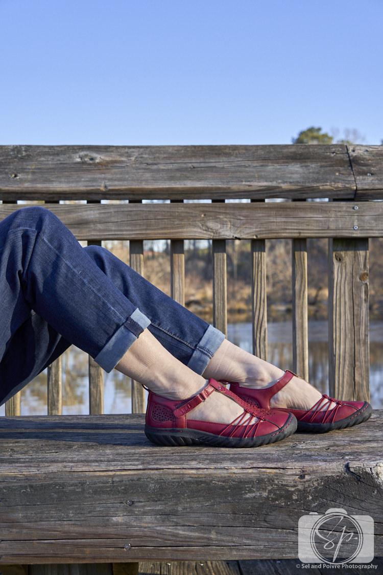 Jambu Sahara shoe close-up