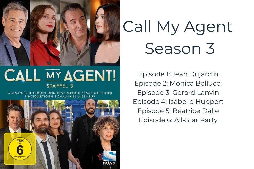 Call My Agent Season 3 DVD box