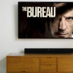 The bureau on tv screen