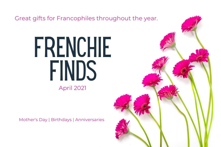 Frenchie Finds April 2021 hero