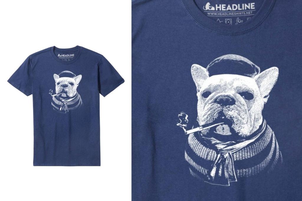 Headline Bulldog T-Shirts