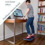 woman standing on Balance Board