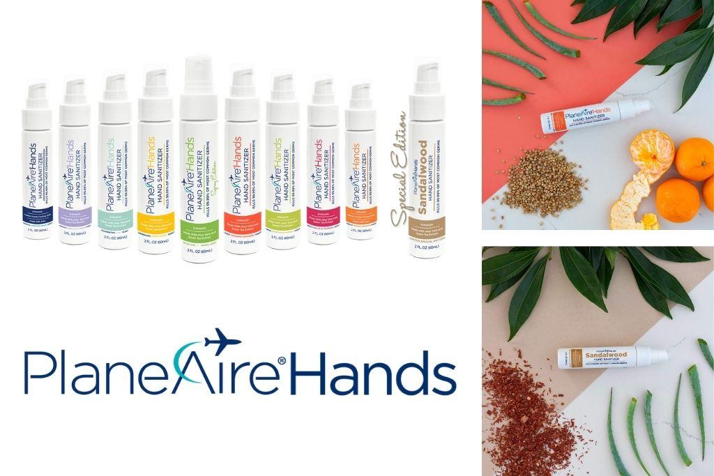 PlaneAire Hands Sanitizers