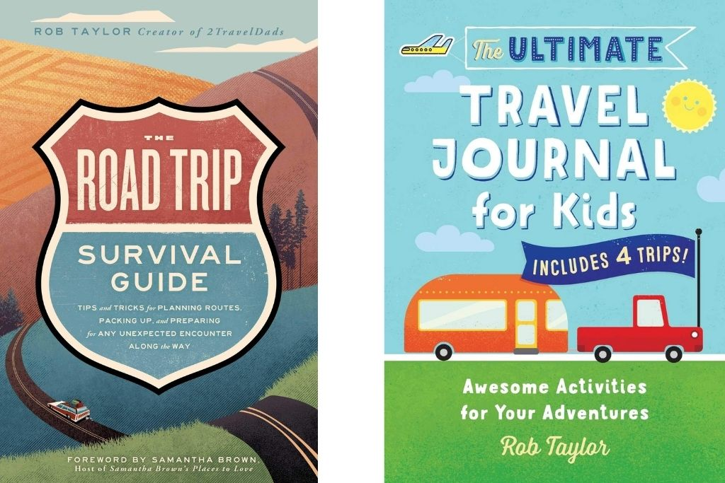 2 books by Rob Taylor