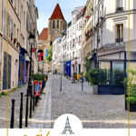 street in the charron district of Paris