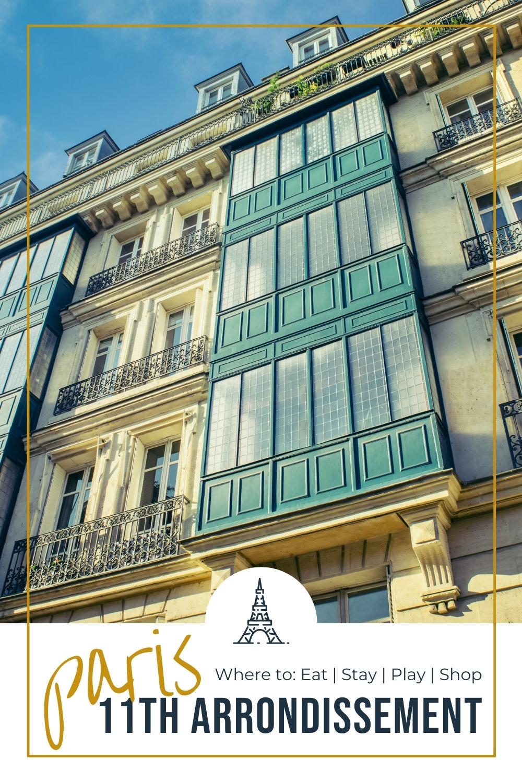 Building in the 11th arrondissement of Paris