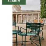Paris Park Chairs in Palais Royale