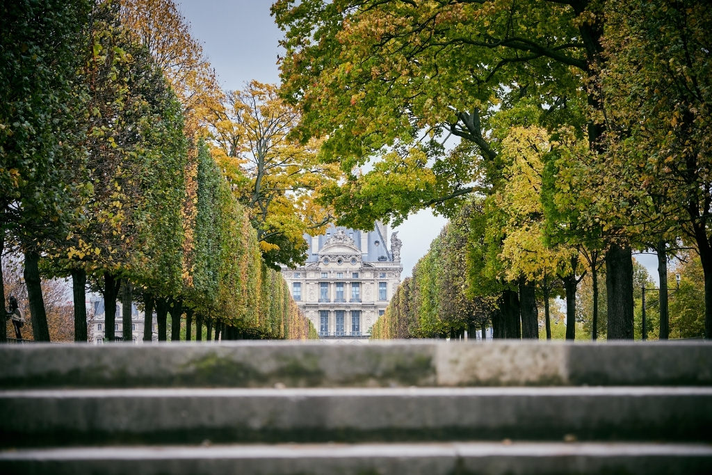 Tuileries Garden Paris in May
