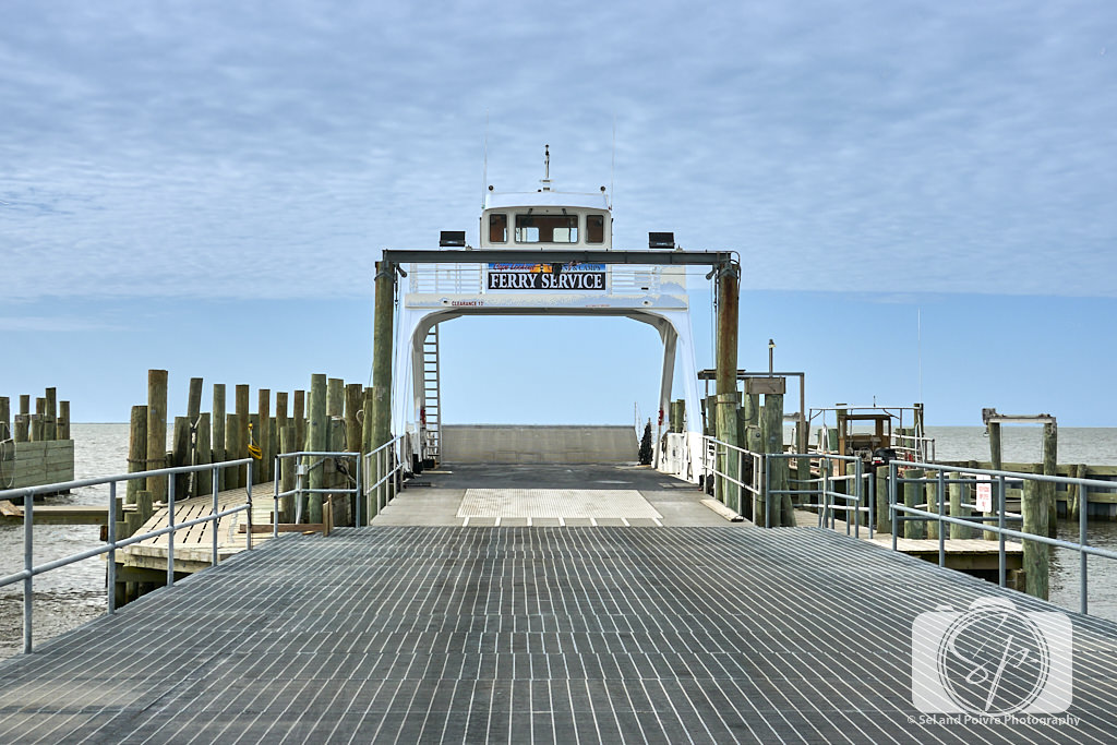 Ferry Dock on the way to camping on Cape Lookout National Seashore