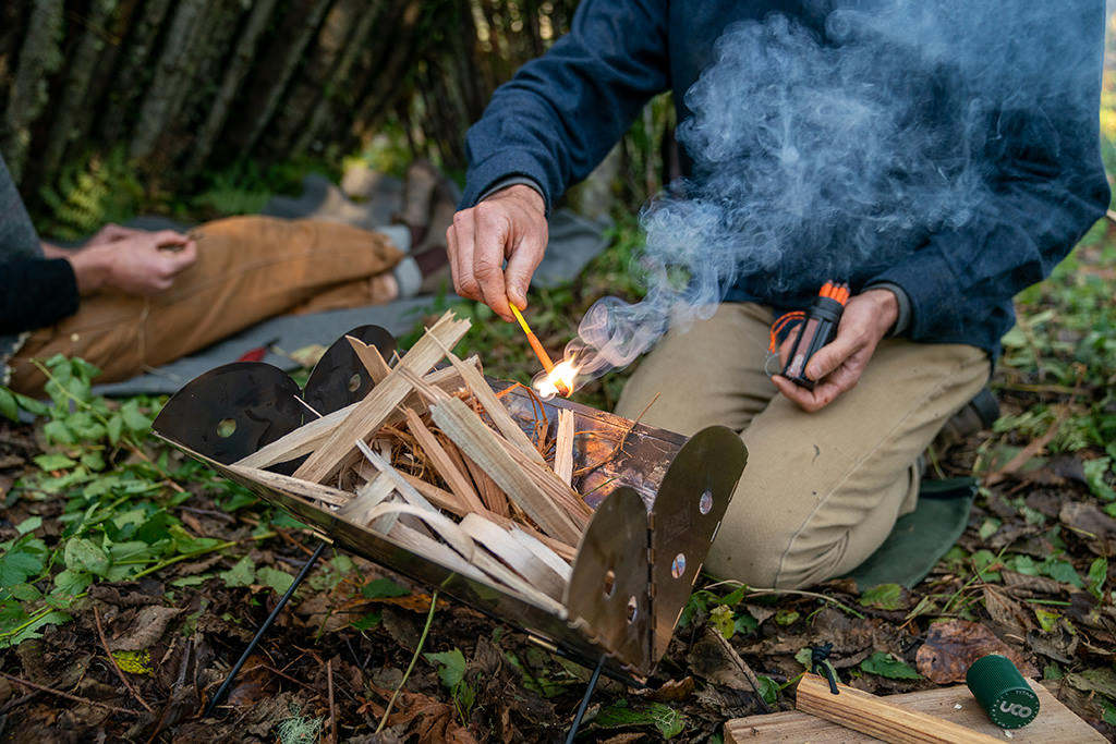 Flatpack Grill and Fire Pit from UCO Gear