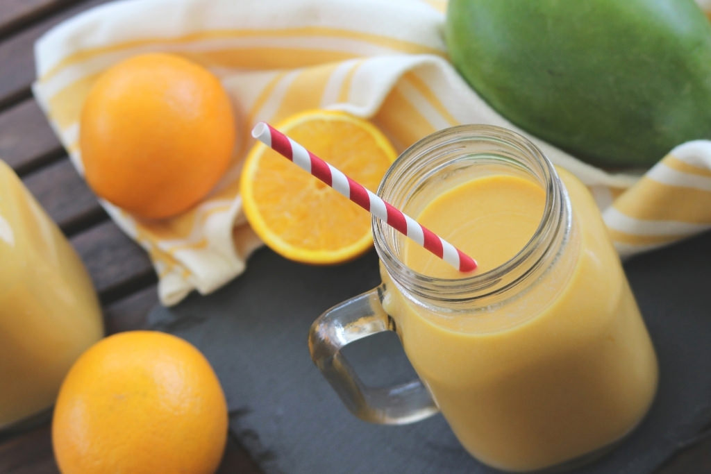 Orange Smoothies