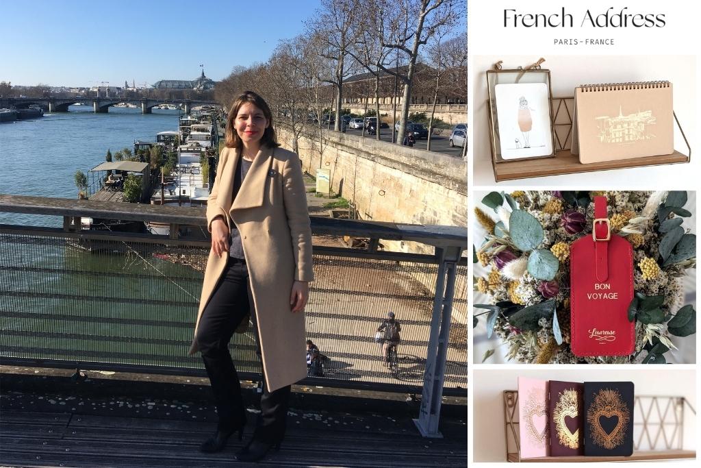 French Address founder Mathilde Vuillemenot