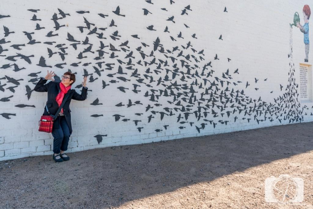The Garden mural in downtown Phoenix