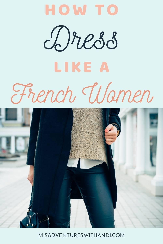 women in trench coat