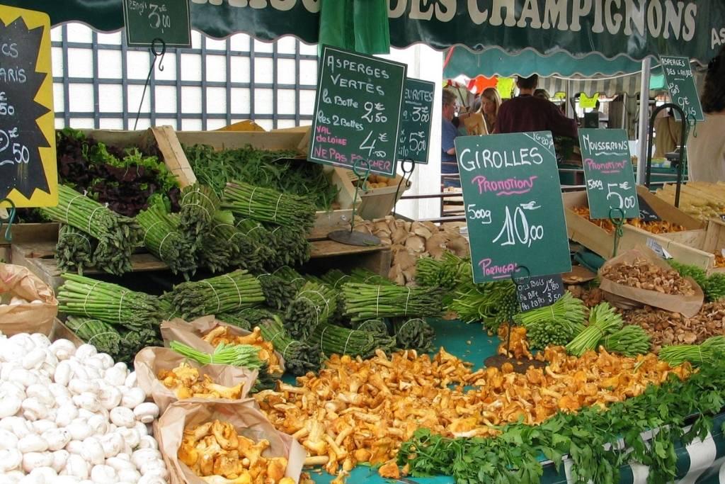 Mushroom at French market