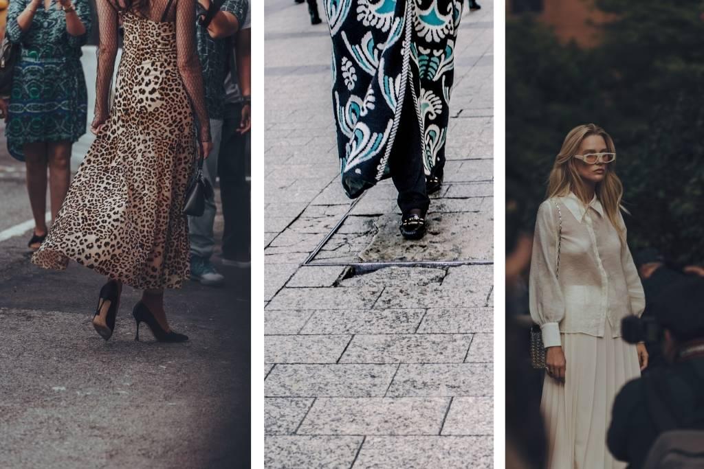 collage of paris fashion