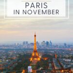 early November evening in Paris